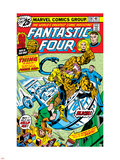 Fantastic Four N170 Cover: Power Man Plastic Sign by George Perez