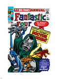 Fantastic Four Annual No.2 Cover: Dr. Doom Plastic Sign by Jack Kirby