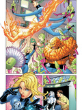 Marvel Knights 4 No.23 Group: Mr. Fantastic Poster by Mizuki Sakakibara