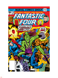 Fantastic Four No.176 Cover: Thing Plastic Sign by George Perez