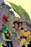 Ff 11 Cover: Medusa, She-Hulk, Ant-Man, Ms. Thing, Impossible Man Wall Decal by Michael Allred