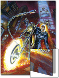 Ghost Rider Annual No.2 Cover: Ghost Rider Art by Mark Texeira