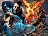 Fantastic Four No.569 Cover: Invisible Woman, Mr. Fantastic, Human Torch and Thing Posters by Bryan Hitch