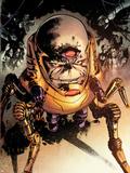 Hulk No.29: M.O.D.O.K. Crawling Plastic Sign by Gabriel Hardman