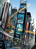 Marvel Adventures Fantastic Four No.6 Group: Mr. Fantastic Plastic Sign by Manuel Garcia