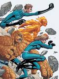 Marvel Age Fantastic Four No.8 Cover: Mr. Fantastic Poster by Makoto Nakatsuka
