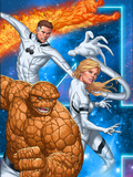 Fantastic Four No.604 Cover: Thing, Invisible Woman, Mr. Fantastic, and Human Torch Prints by Mike Choi