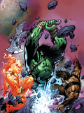 War of Kings: Savage World of Skaar No.1 Cover: Skaar, Starbolt and Gorgon Plastic Sign by Paul Pelletier