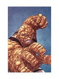 Fantastic Four No.601 Cover: Thing with his Fist at the Ready Lámina por Mike Choi