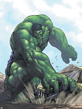Gamma Games No.3 Cover: Hulk Wall Decal by Alvin Lee