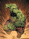 Marvel Adventures Hulk No.14 Cover: Hulk Wall Decal by David Nakayama