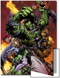 World War Hulk No.2 Cover: Hulk Prints by David Finch