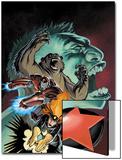 Hulk: Winter Guard No.1 Cover: Darkstar, Crimson Dynamo, Ursa Major, Red Guardian and Hulk Prints by Steve Ellis