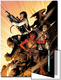 WWH Aftersmash: Warbound No.5 Cover: Elloe, Hiroim, Korg and No-Name Posters by Jim Cheung