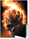 Ghost Rider No.2 Cover: Ghost Rider Plakat