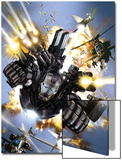 War Machine No.1 Cover: War Machine Prints by Leonardo Manco