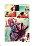 Hulk No.26: Galactus Posing Plastic Sign by Mark Robinson