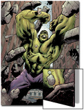 Hulk: Destruction No.1 Cover: Hulk Print by Jim Muniz