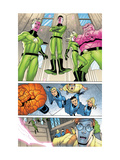Marvel Knights 4 No.23 Group: Impossible Man Poster by Mizuki Sakakibara