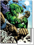 Hulk: Destruction No.4 Cover: Abomination and Hulk Print by Jim Muniz