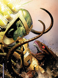 WWH Aftersmash: Warbound No.3 Cover: Leader and Brood Plastic Sign by Jim Cheung