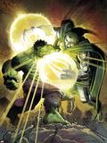 Incredible Hulk No.606 Cover: Hulk and Dr. Doom Wall Decal by John Romita Jr.