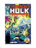 Incredible Hulk No.337 Cover: Hulk, Cyclops, Grey, Jean, Iceman and X-Factor Plastic Sign by Todd McFarlane