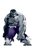 Hulk Gray No.1 Cover: Hulk Wall Decal by Tim Sale
