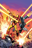 Iron Man 258.4 Cover: Iron Man, War Machine Plastic Sign by Dave Ross
