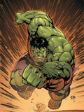 Marvel Adventures Hulk No.14 Cover: Hulk Plastic Sign by David Nakayama