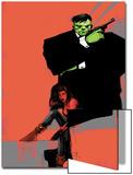Incredible Hulks No.626 Cover: Hulk and Red She-Hulk Prints by  Jock