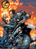 Ghost Rider V3 No.3 Cover: Gunmetal Gray Wall Decal by Trent Kaniuga