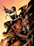 WWH Aftersmash: Warbound No.5 Cover: Elloe, Hiroim, Korg and No-Name Wall Decal by Jim Cheung