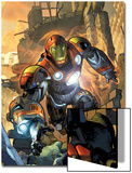 Ultimate Comics Armor Wars No.1 Cover: Iron Man Print by Brandon Peterson