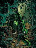 She-Hulk No.27 Cover: She-Hulk Plastic Sign by Mike Deodato