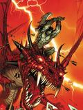 Skaar: Son Of Hulk No.2 Cover: Skaar Wall Decal by Ron Garney