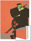 Incredible Hulks No.626 Cover: Hulk and Red She-Hulk Wood Print by  Jock