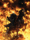 Ghost Rider: Trail Of Tears No.6 Cover: Ghost Rider Plastic Sign