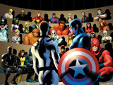 FF No.11: Mr. Fantastic, Captain America and Others Pósters por Barry Kitson