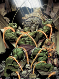 Incredible Hulks No.624: Miek has Trapped Hulk and Kazar Wall Decal by Dale Eaglesham