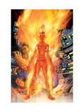 Fantastic Four No.521 Cover: Storm, Sue, Thing, Mr. Fantastic and Human Torch Posters by Mike Wieringo