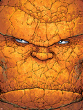 Ultimate Fantastic Four No.14 Cover: Thing Plastic Sign by Adam Kubert