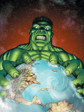 Incredible Hulk No.106 Cover: Hulk Plastic Sign by Gary Frank