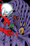 Ff 13 Cover: Ant-Man, Medusa, She-Hulk, Miss Thing Wall Decal by Michael Allred