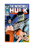 Incredible Hulk No.335 Cover: Hulk, Wagner, Adria and Stalker Wall Decal by John Ridgway