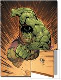 Marvel Adventures Hulk No.14 Cover: Hulk Prints by David Nakayama