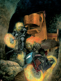 Ghost Riders: Heavens On Fire No.3 Cover: Ghost Rider Plastic Sign by Das Pastoras