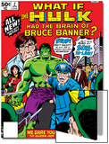 What If No.2 Cover: Hulk, Thunderbolt Ross, Banner and Bruce Art by Herb Trimpe