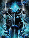Ghost Rider: Danny Ketch No.1 Cover: Ghost Rider Plastic Sign by Clint Langley