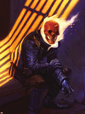 Ghost Rider No.24 Cover: Ghost Rider Plastic Sign